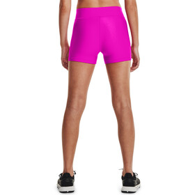 Under Armour HeatGear Armour Mid Rise Shorty Damer, pink